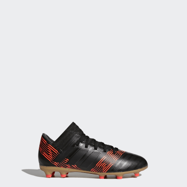 Youth 8-16 Years Football Black Nemeziz 17.3 Firm Ground Boots