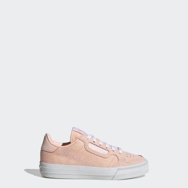 Børn Originals Pink Continental Vulc sko