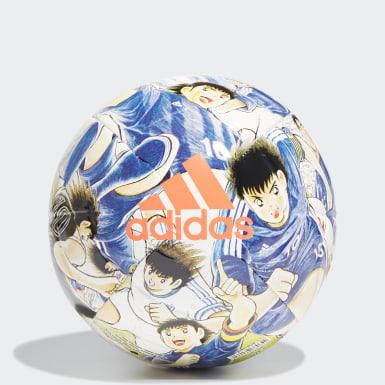 ผู้ชาย ฟุตบอล สีขาว ลูกฟุตบอล Captain Tsubasa สำหรับฝึกซ้อม