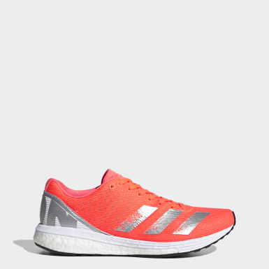 Frauen Running Adizero Boston 8 Schuh Orange