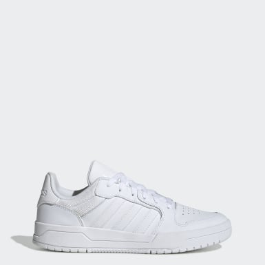 Men Sport Inspired White Entrap Shoes
