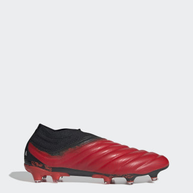 Bota de fútbol Copa 20+ césped natural seco Rojo Hombre Fútbol