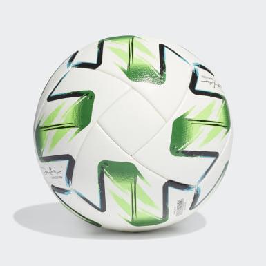 Men's Soccer White MLS Nativo XXV Competition Ball