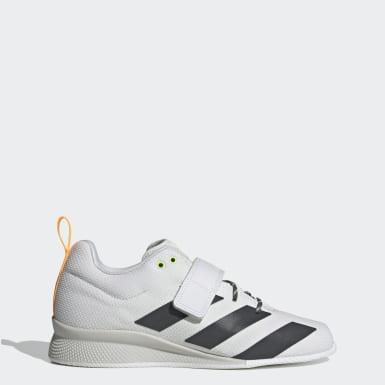 Sapatos de Halterofilismo Adipower II Branco Mulher Cross Training