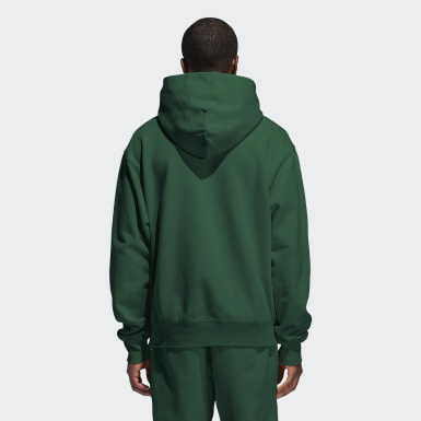 Originals Pharrell Williams Basics Hoodie – Genderneutral Grün