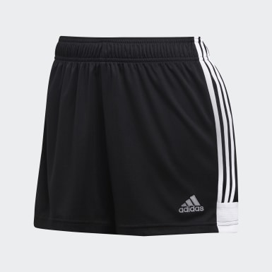 Women Soccer Black Tastigo 19 Shorts