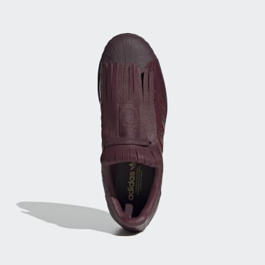 Kvinder Originals Burgundy Superstar FR sko