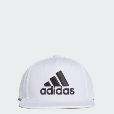 เทรนนิง สีขาว หมวกแก๊ป Snapback Logo