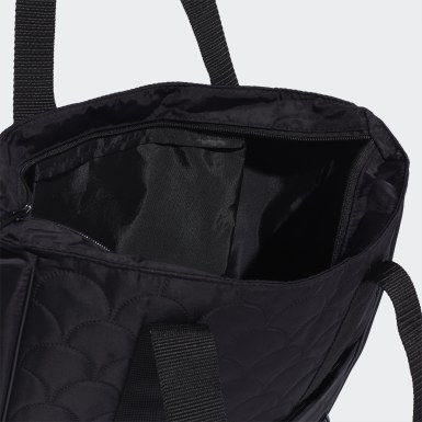 Women Training Black Tailored For Her Quilted Tote Bag