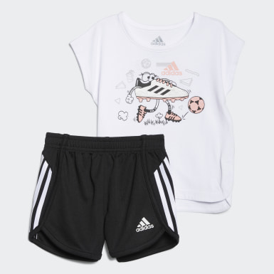 Infant & Toddler Training Soccer Shorts and Tee Set
