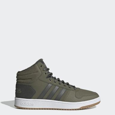 зеленый Баскетбольные кроссовки Hoops 2.0 Mid