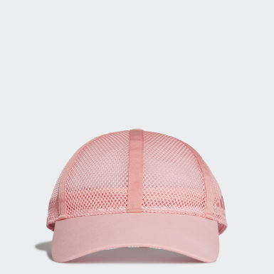 เทรนนิง สีชมพู หมวกเบสบอลผ้าตาข่าย