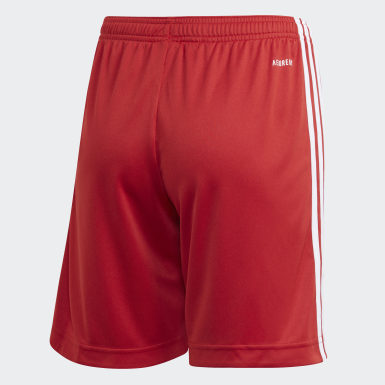 Youth 8-16 Years Football Red FC Bayern Home Shorts