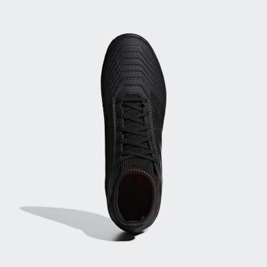 Football Black Predator Tango 19.3 Turf Boots