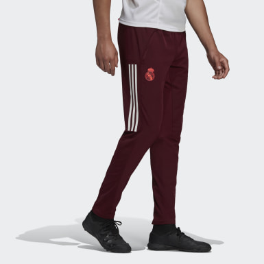 Herr Fotboll Burgundy Real Madrid Training Pants