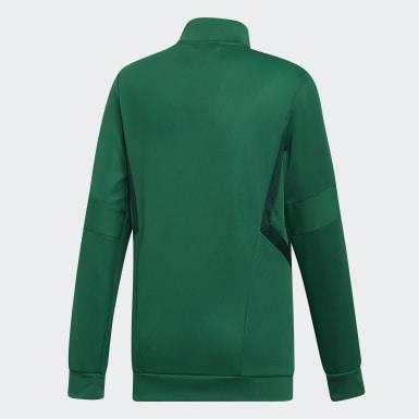 Børn Træning Grøn Tiro 19 træningsjakke
