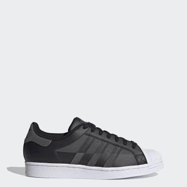 Men's Originals Black Superstar Shoes