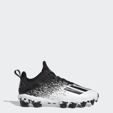 Men's Football Black Adizero Spark MD Cleats