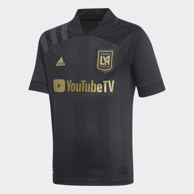 Youth Soccer Black Los Angeles FC Home Jersey