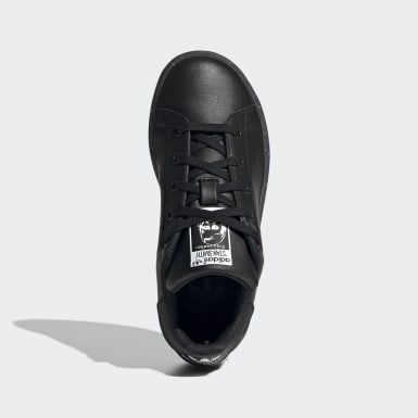Children Originals Black Stan Smith Shoes