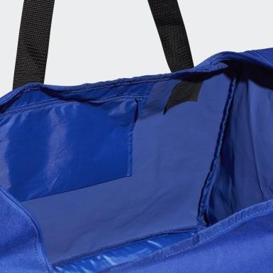 Mænd Fodbold Blå Tiro sportstaske, large