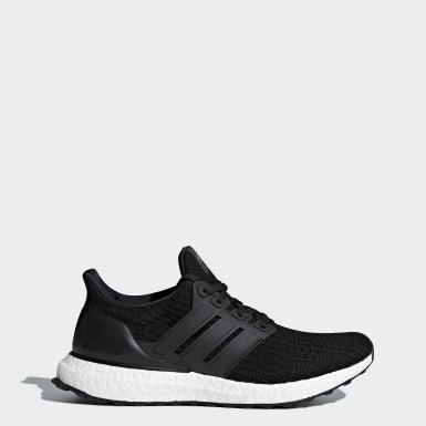 Women Walking Black Ultraboost Shoes