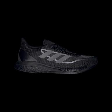 Men Running Black Supernova+ Shoes