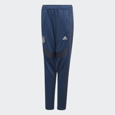 Pantalón de Entrenamiento FC Bayern Azul Niño Fútbol