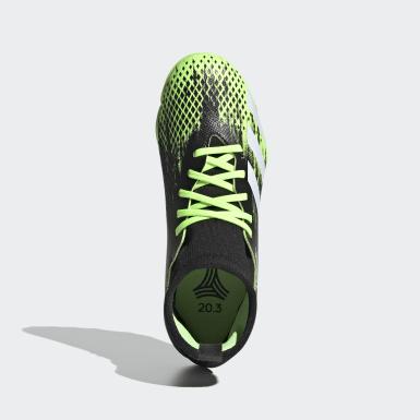 Çocuklar Futbol Yeşil Predator Mutator 20.3 Halı Saha Kramponu