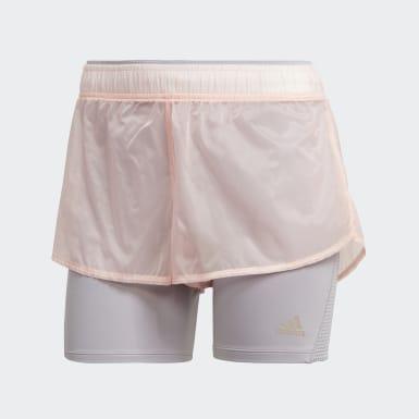 Women Running Pink 25/7 Shorts