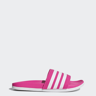 Claquette Adilette Cloudfoam Plus Stripes