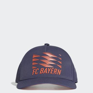 Boné FC Bayern Azul Futebol