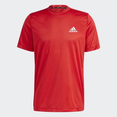 Men Training Red AEROREADY Designed To Move Sport Tee