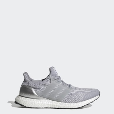 Men Running Grey Ultraboost 5.0 DNA Shoes