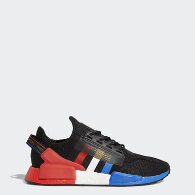 Men Originals Black NMD_R1 V2 Paris Shoes