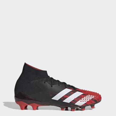 Mænd Fodbold Sort Predator Mutator 20.1 Artificial Grass støvler