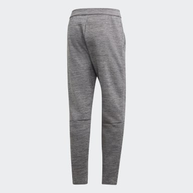 Men Athletics Grey adidas Z.N.E. Tapered Tracksuit Bottoms