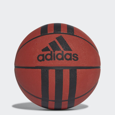 Men Basketball Orange 3-Stripes Basketball