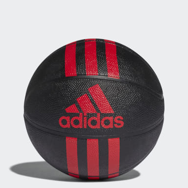 Basketball Black 3-Stripes Mini Basketball