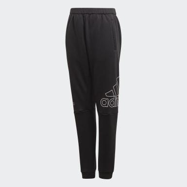 Kluci Trénink černá Sportovní kalhoty Training