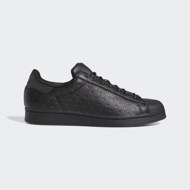 Men Originals Black Pharrell Williams Superstar Shoes