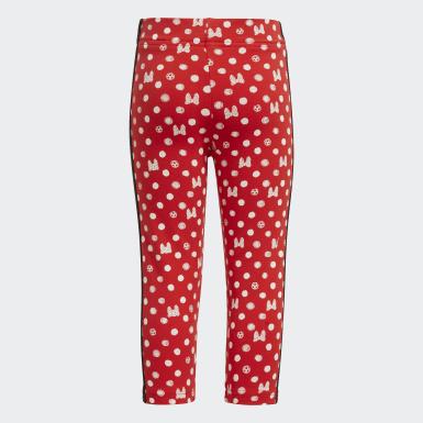 Mallas adidas x Disney Rojo Niña Sport Inspired