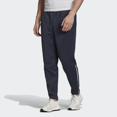 Men Athletics Blue adidas Z.N.E. Tapered Pants