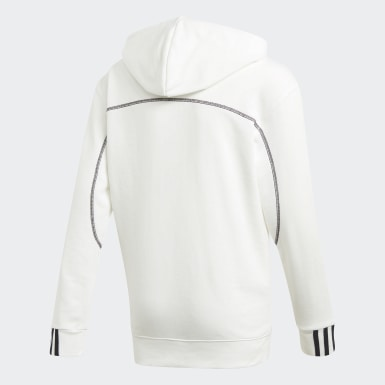 Youth 8-16 Years Originals White R.Y.V. Hoodie