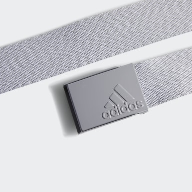 Men Golf Grey Heathered Web Belt