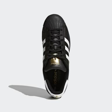Originals สีดำ รองเท้า Superstar Foundation