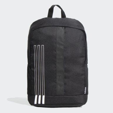 Lifestyle Black 3-Stripes Backpack