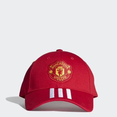Boné do Manchester United Vermelho Homem Futebol