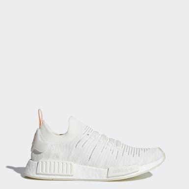 Women Originals White NMD_R1 STLT Primeknit Shoes