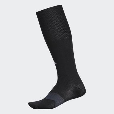 Men's Training Black Metro Soccer Socks 1 Pair